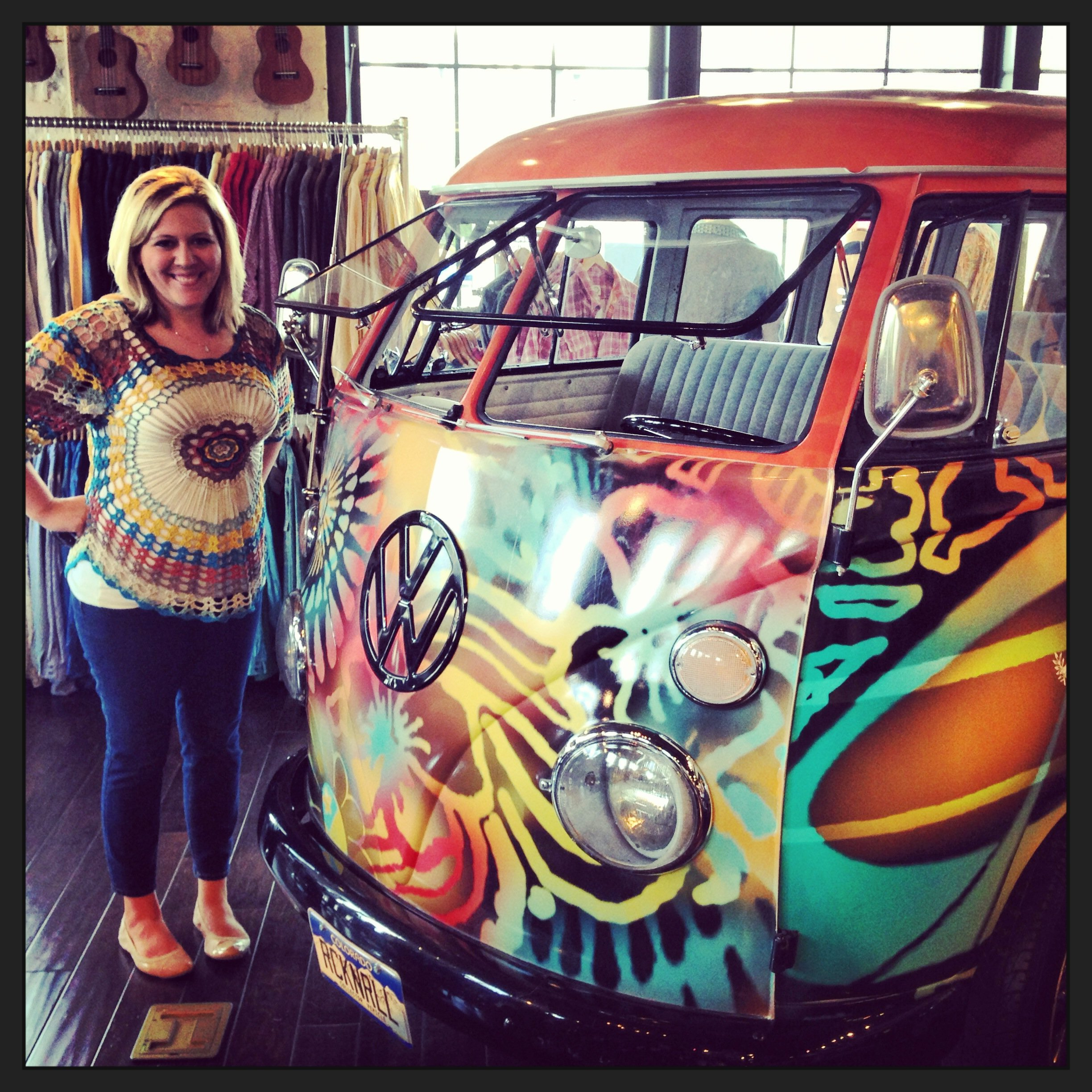 Hippie Van on PeaceLoveandSarah.com