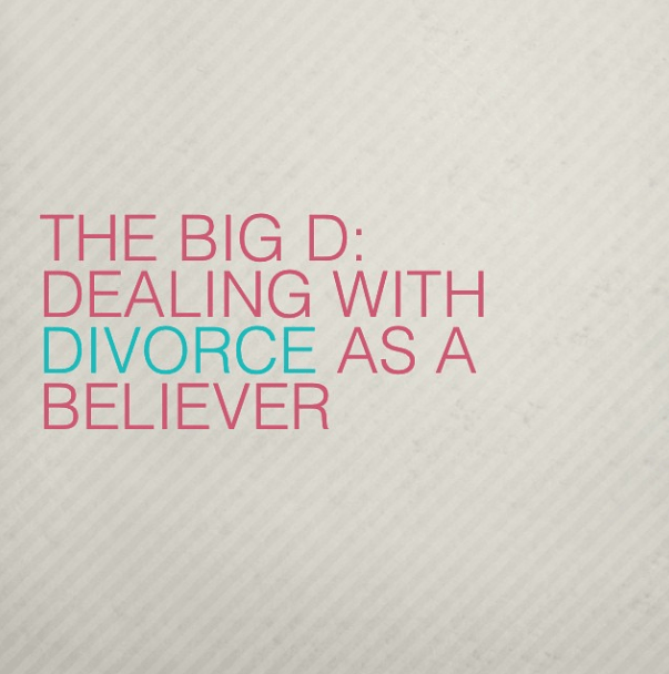 Dealing with Divorce as a Believer #singleparent #divorce #hope