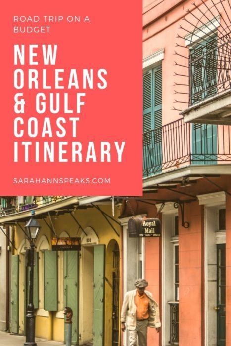 New Orleans and Gulf Coast Itinerary